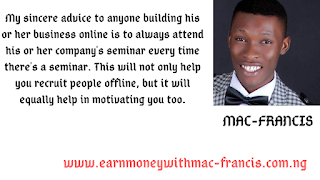 ANOTHER WAY TO STAY MOTIVATED AND ENTHUSIASTIC IN YOUR NETWORK MARKETING BUSINESS AS AN ONLINE NETWORK MARKETER