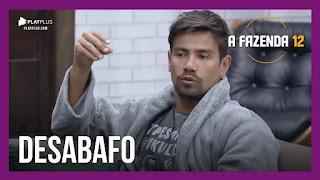 A Fazenda 12 – Peões falam sobre traumas – Mariano fala sobre arrependimento – Biel, Juliano e Mateus conversam