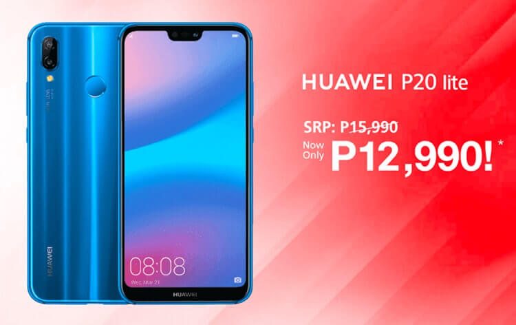 Huawei P20 Lite Drops Price to Php12,990!