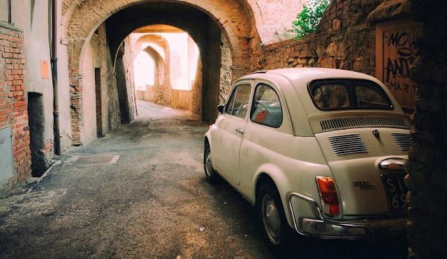 Viagem de carro de Roma à Florença