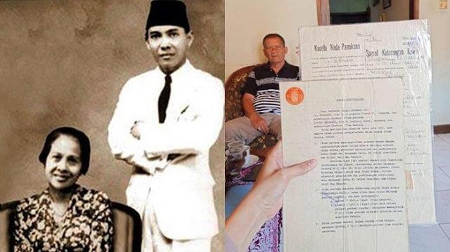 Cucu Inggit Garnasih Sebut Soekarno Tak Pernah Tepati Janji Bayar Utang di Surat Cerai