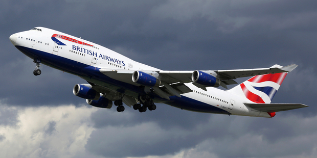 British Airways plane with 132 passengers aboard hit by drone