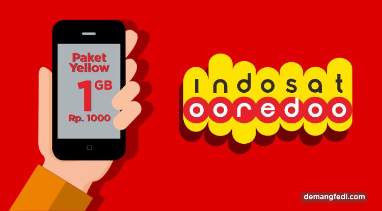 Paket Yellow Indosat Ooredoo dan Cara Aktivasinya