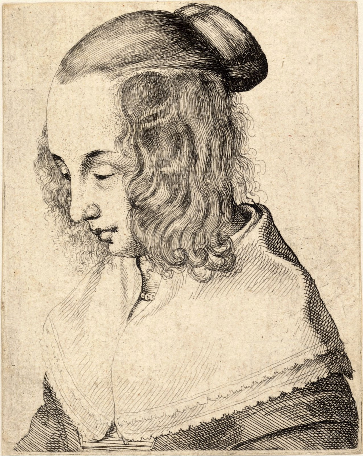 "madame isis' toilette: the 17th century ""spaniel ears"" hairstyle"