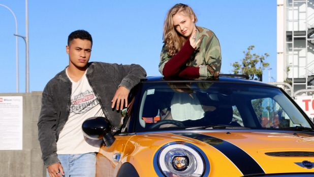 Pork Pie, starring James Rolleston and Ashleigh Cummings