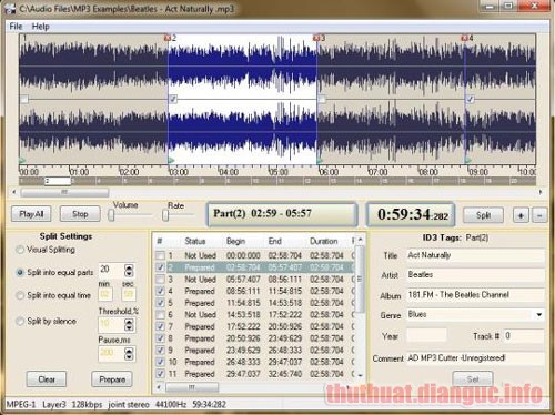 Download AD MP3 Cutter 2.3.1 Full Crack