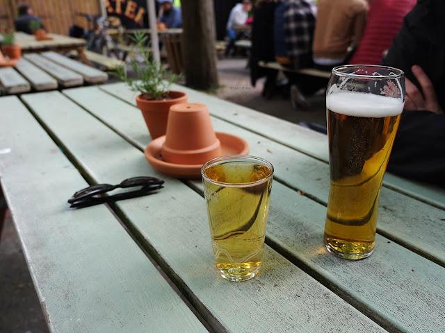 Bières au pub The Boater