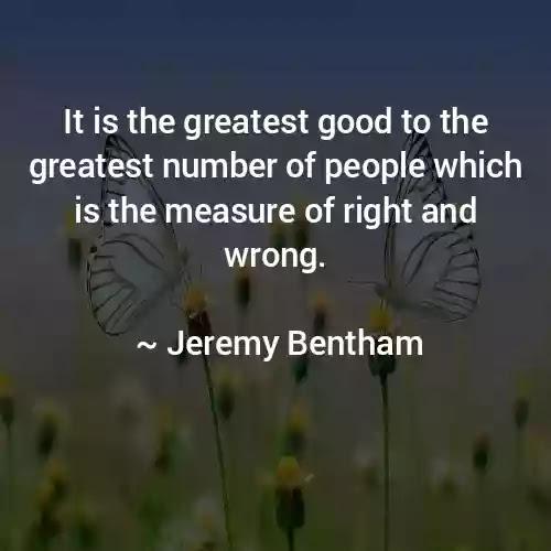 Jeremy Bentham greatest  Quotes