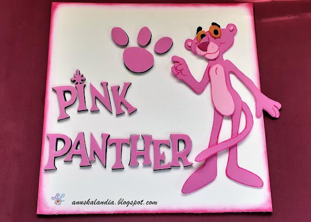 Cuadro-en-goma-eva-de-la-Pantera-Rosa-o-Pink-Panther-Anuskalandia