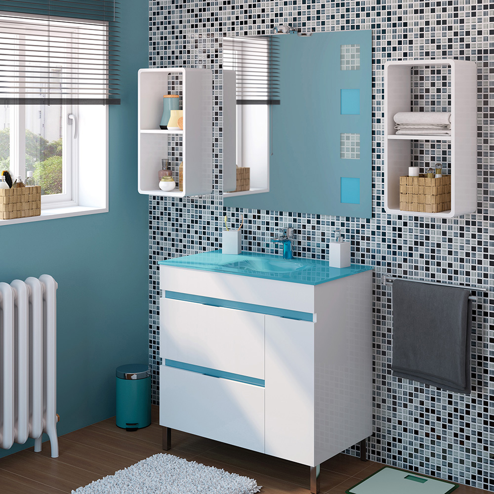 Marzua descubra los diferentes tipos de lavabo - Lavabos de cristal de colores ...