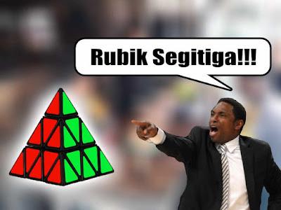 meme rubik segitiga