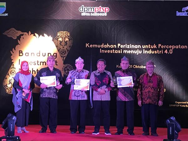 PT Link Net Tbk Dukung Investasi di Kota Bandung,  Raih Penghargaan di Acara Bandung Investment Night 2019