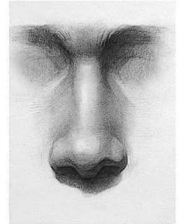 """Nose drawing by icuong """