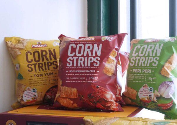 Nikmati Snek Mission Corn Strips Terbaru Dengan Rasa Berbeza
