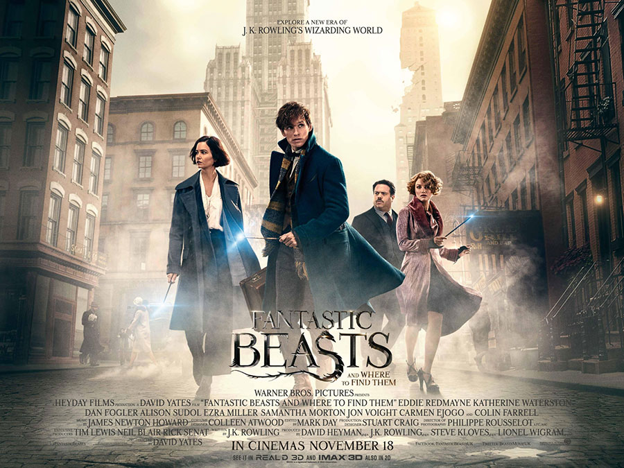Fantastic Beasts And Where To Find Them 2016 Hindi English Express Hd