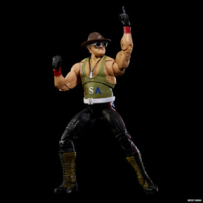 San Diego Comic-Con 2021 Exclusive WWE Ultimate Edition Sgt. Slaughter Action Figure by Mattel