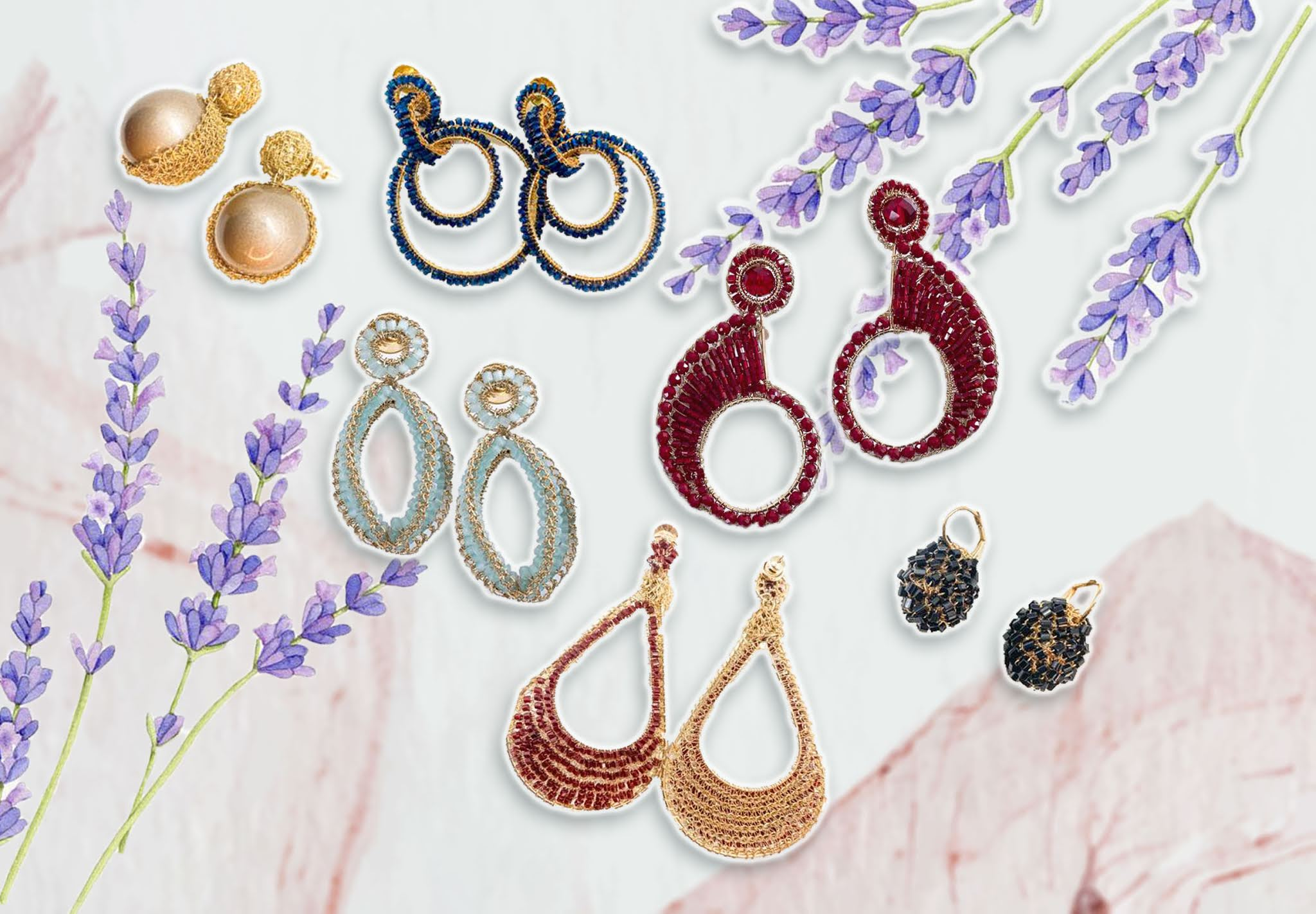 unique handcrafted earrings from small brands