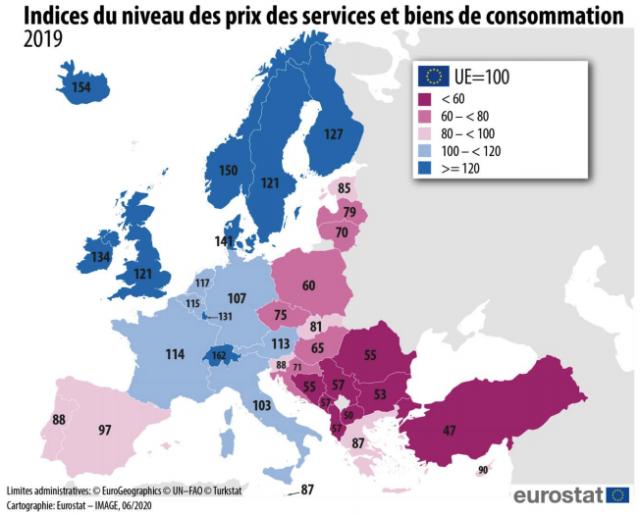 المنتجات التقنية باهظة الثمن في فرنسا مقارنة بباقي الدول الأوروبية