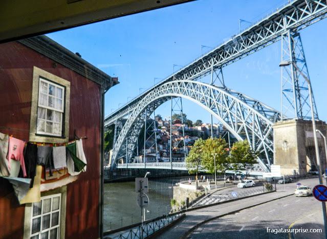 Chegada à Cidade do Porto, Portugal