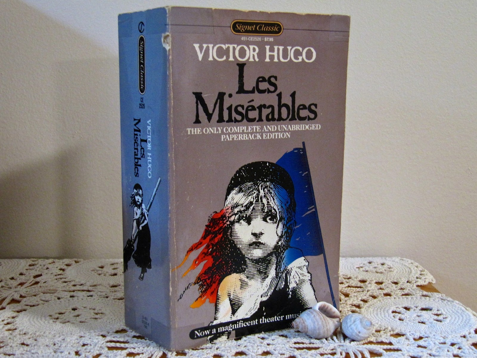 a book review of les miserables Since everything about les misérables is fortissimo — including but not  the  19th-century political novel by victor hugo, director tom hooper.