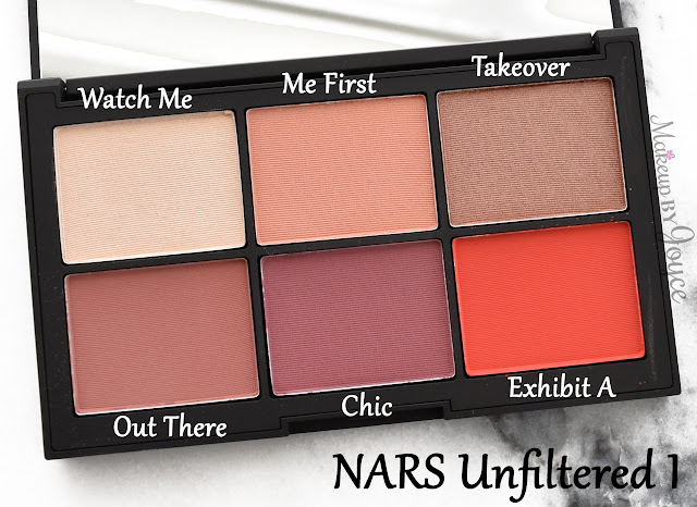 NARS Unfiltered I Cheek Blush Palette Limited Edition Review