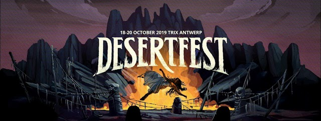 [News] Desertfest Belgium 2019 line-up & info