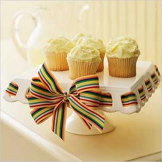 Vegan Lemon Gem Cupcakes