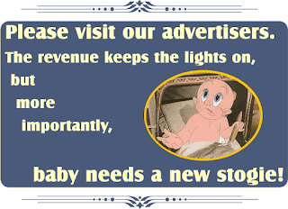 Click adverts. Baby needs a new stogie!