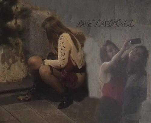 Girls Gotta Go 14 (Spanish Girls piss during street festival)