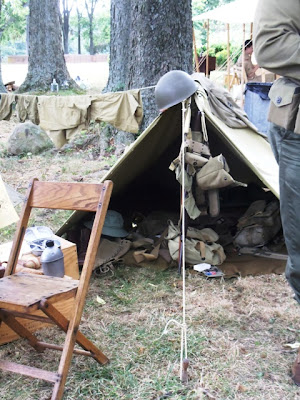 WWII Army field camp