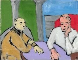 'Conversation', 2001, A. Kushnarenko, EAE Gallery NL