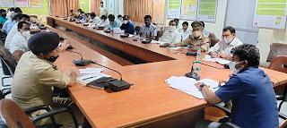 सड़क सुरक्षा समिति की बैठक सम्पन्न  | #NayaSaberaNetwork