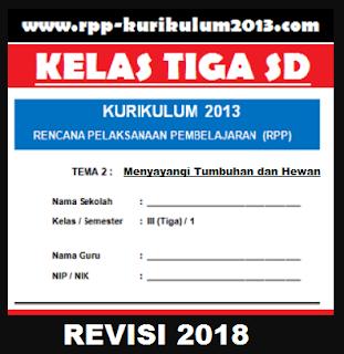 GAMBAR rpp k13 tema 2 revisi 2018 kelas 3