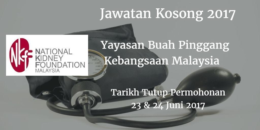 Jawatan Kosong NKF 23 & 24 Juni 2017