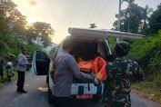 Polisi Evakuasi Jasad Pria Gosong Dugaan Pembunuhan di Tembolon