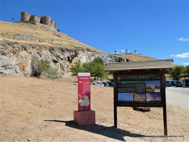 ruta Don Quijote de La Mancha Consuegra