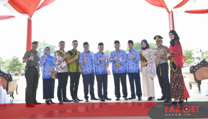 Bupati Haryanto : Anggota Korpri Jangan Sampai Terjebak Rutinitas