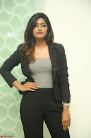 Actress Eesha Looks gorgeous in Blazer and T Shirt at Ami Tumi success meet ~  Exclusive 149.JPG