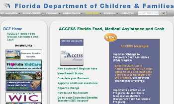 Dcf Food Stamps Access