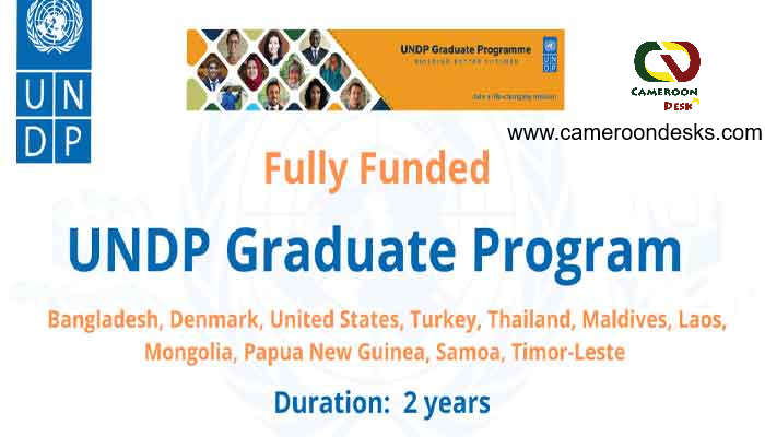 UNDP Graduate Programme 2021-22 | Fully Funded