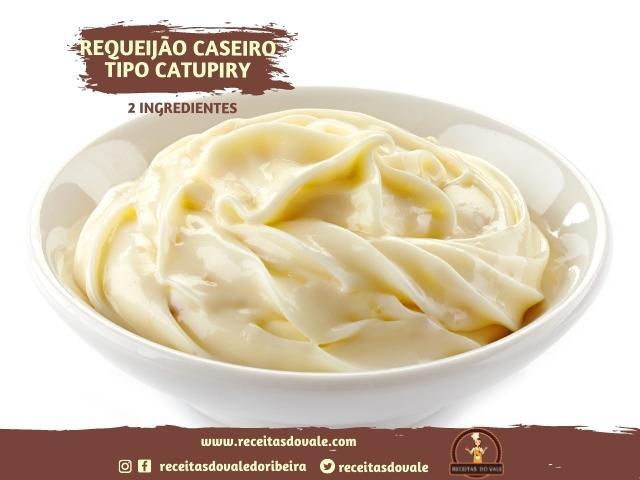 Receita de Requeijão Caseiro tipo Catupiry com 2 ingredientes