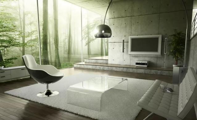 ruangan akrilik