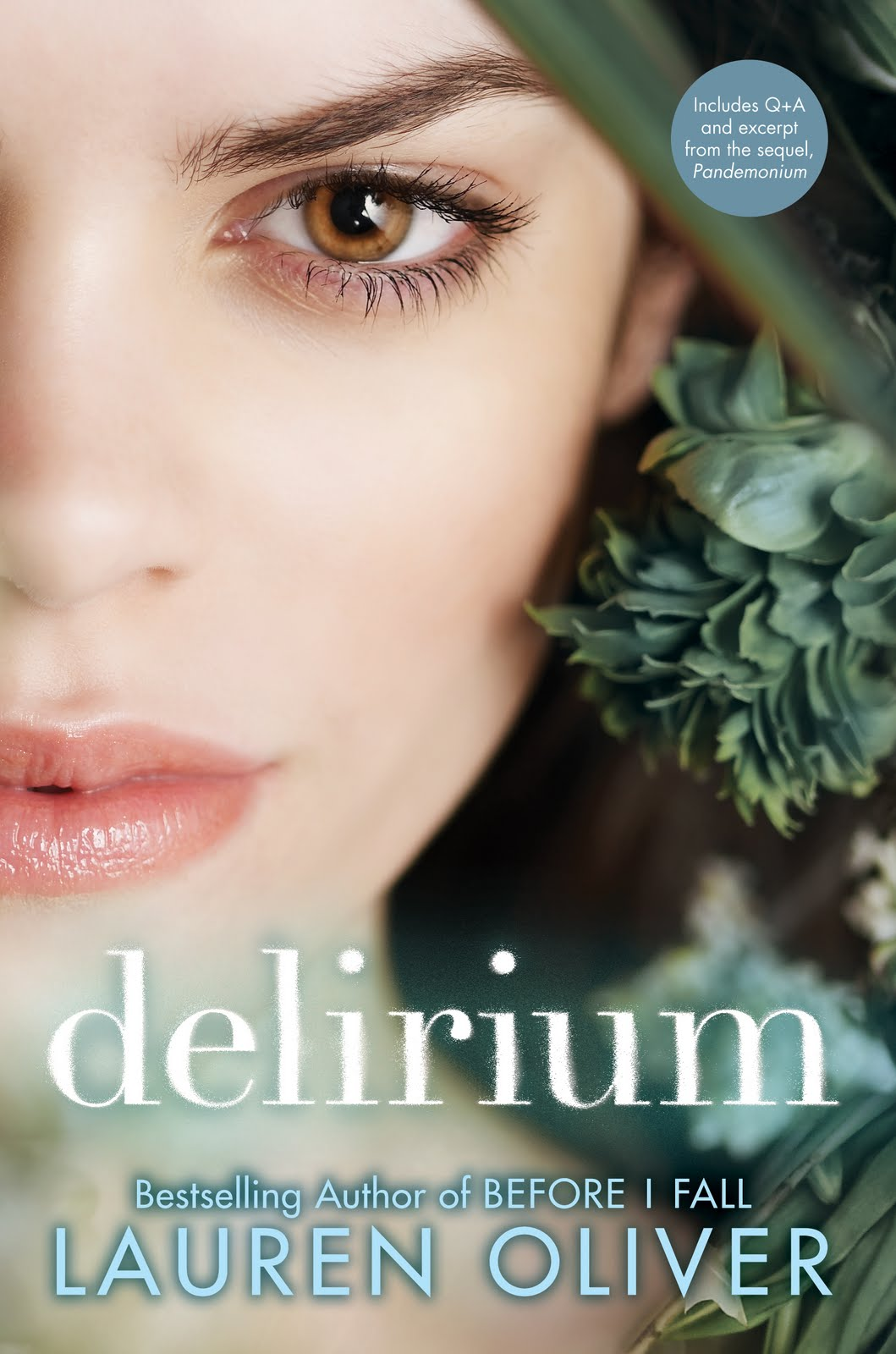 LAUREN OLIVER: News, Thoughts, and Miscellany: DELIRIUM ...