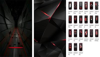 Vivo Themes: Tema Dark Red Untuk Vivo