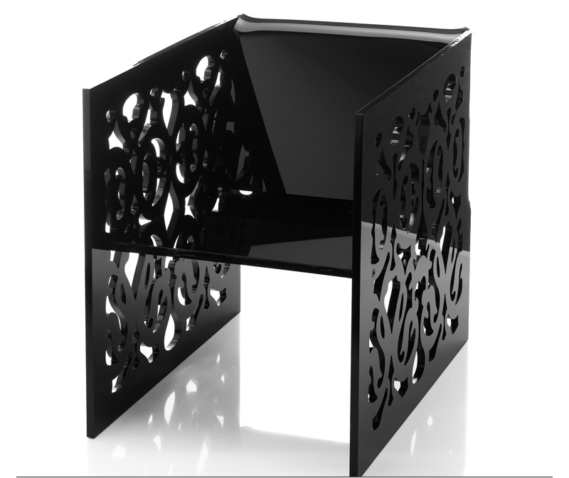 Acrila Modern Acrylic Furniture That Goes From Baroque