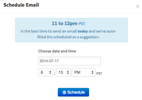 Learn VC: Schedule Emails in Outlook com, Gmail, or our Web App