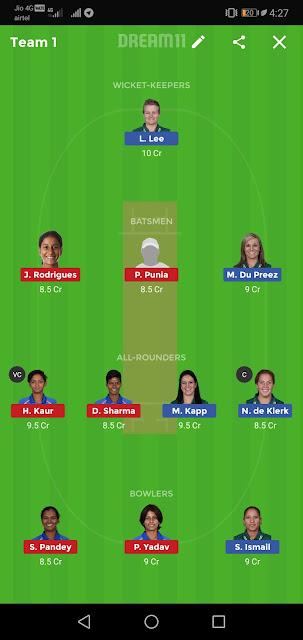 Dream11team prediction,T20 Cricket Prediction, Garand League win