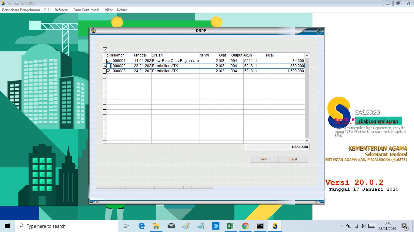 Update Aplikasi SAS Versi 20.0.2 (Perbaikan Modul Silabi Saat ...