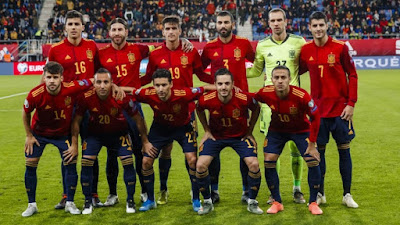 Spain National Football Team 2019 vs Malta
