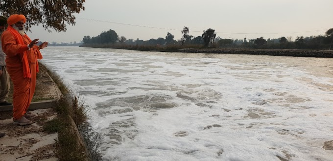 There is increase in polluted water quantity at Harike pattan